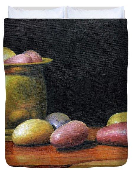 Heirloom Potatoes Duvet Cover
