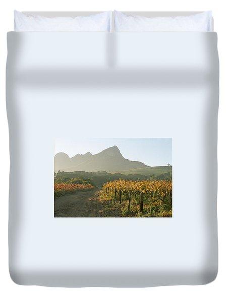 Helderburg Vineyard Duvet Cover