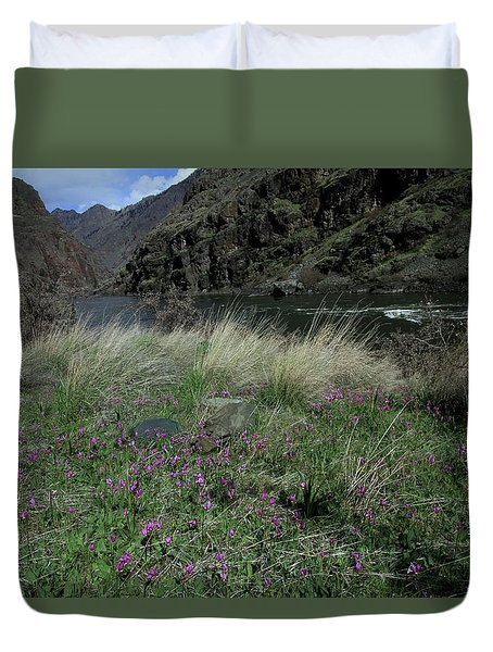 Hells Canyon National Recreation Area Duvet Cover