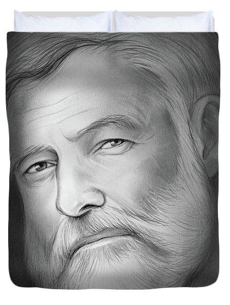 Hemingway Duvet Cover