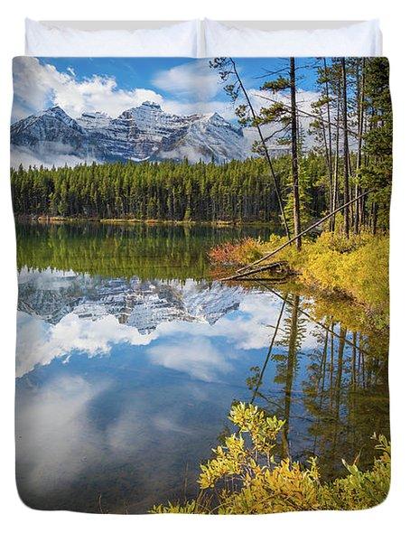 Herbert Lake Duvet Cover