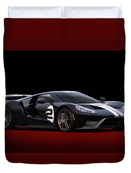 Heritage Ford Gt Duvet Cover