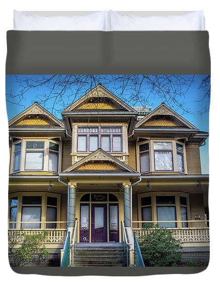 Heritage House Duvet Cover