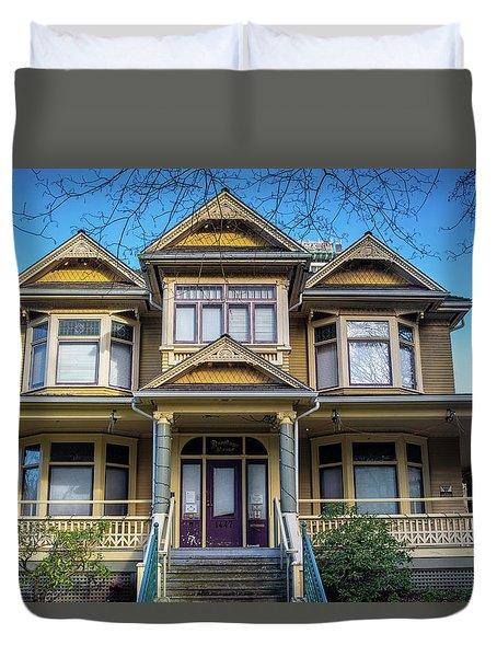 Heritage House Duvet Cover