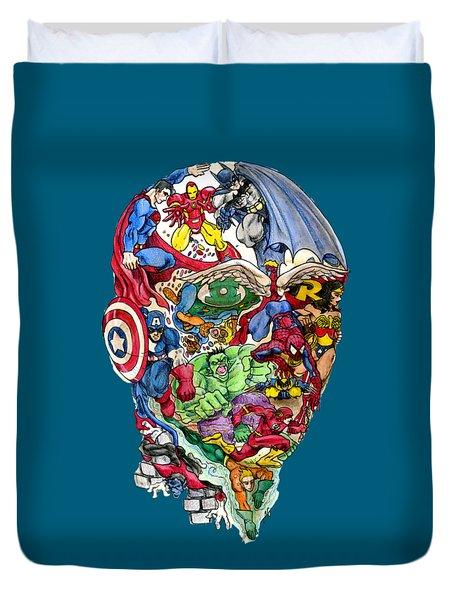 Heroic Mind Duvet Cover