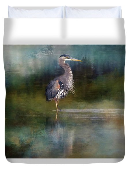 Out Of The Mist Duvet Cover
