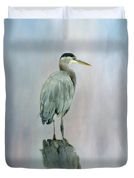 A Soft Moment In Time Duvet Cover
