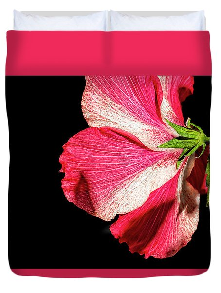 Hibiscus In Shadow Duvet Cover