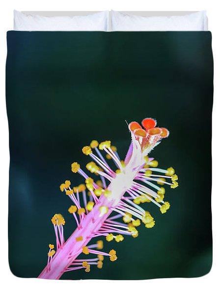 Hibiscus' Pistil Duvet Cover