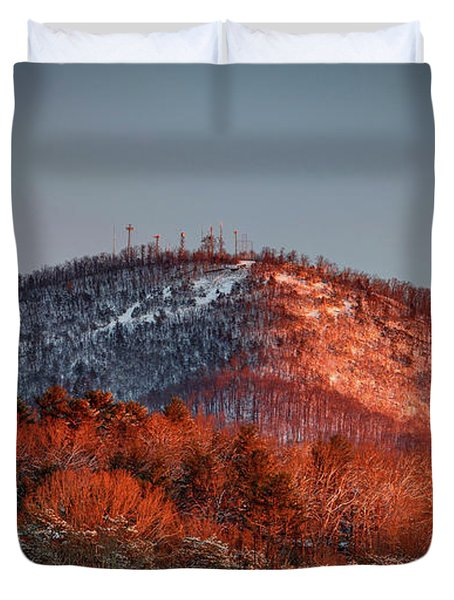 Hibriten Mountain - Lenoir, North Carolina Duvet Cover