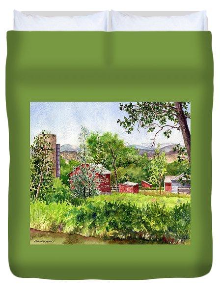 Hidden Farm Duvet Cover