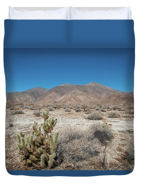 High Desert Cactus Duvet Cover