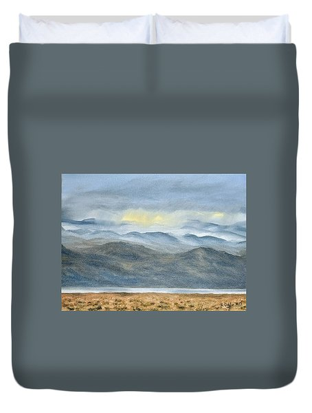High Desert Morning Duvet Cover