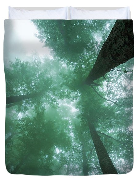 High In The Mist Duvet Cover