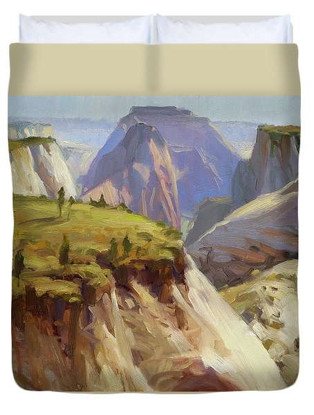 High On Zion Duvet Cover
