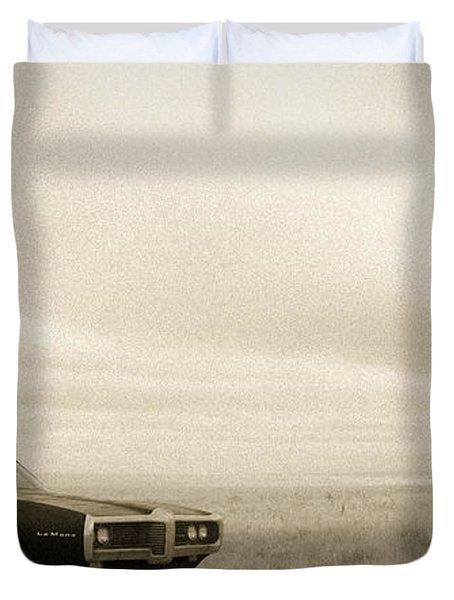 High Plains Drifter Duvet Cover
