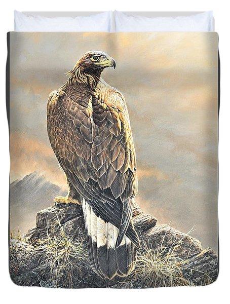 Highlander - Golden Eagle Duvet Cover