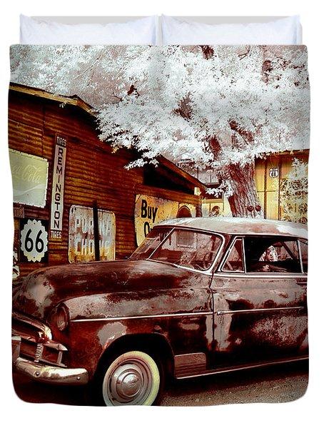 Highsmith Old Car Duvet Cover