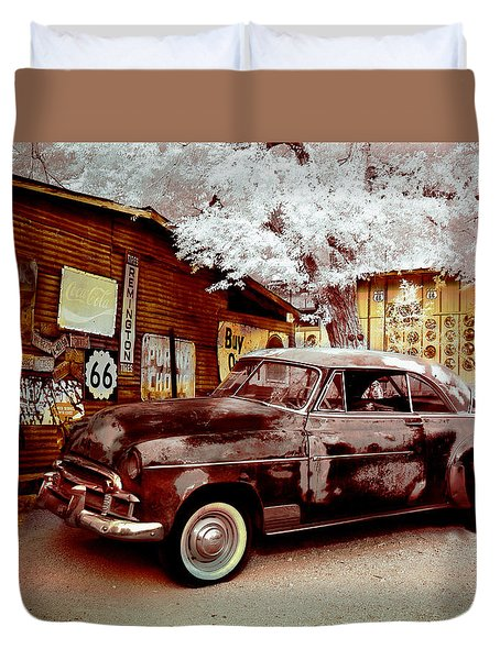 Highsmith Old Car Duvet Cover