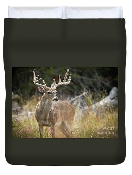 Hill Country Whitetail Duvet Cover