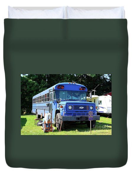 Hippie Parking Only Duvet Cover