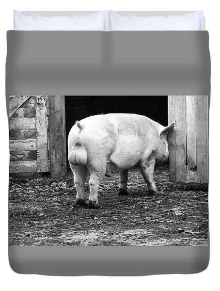 hog Duvet Cover