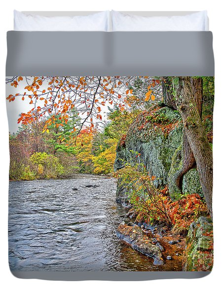 Hogback Dam Pool Duvet Cover