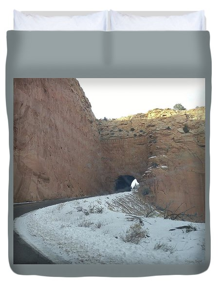 Hole In The Rock Duvet Cover