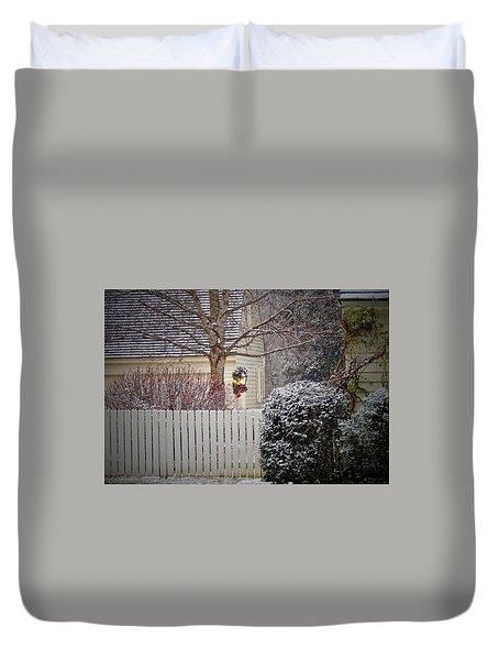 Holiday Lantern Duvet Cover