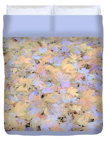Home Leaves3 Duvet Cover