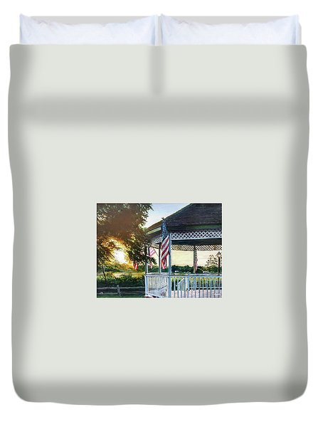 Hometown Duvet Cover