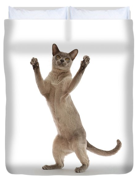 Duvet Cover featuring the photograph Hooray For The Weekend by Warren Photographic