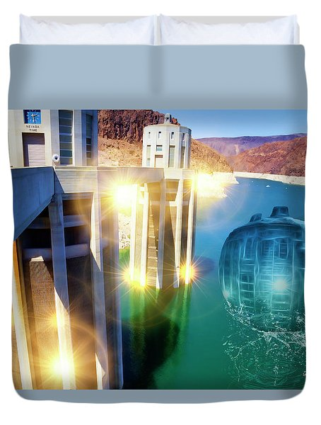 Hoover Intake Facility Duvet Cover