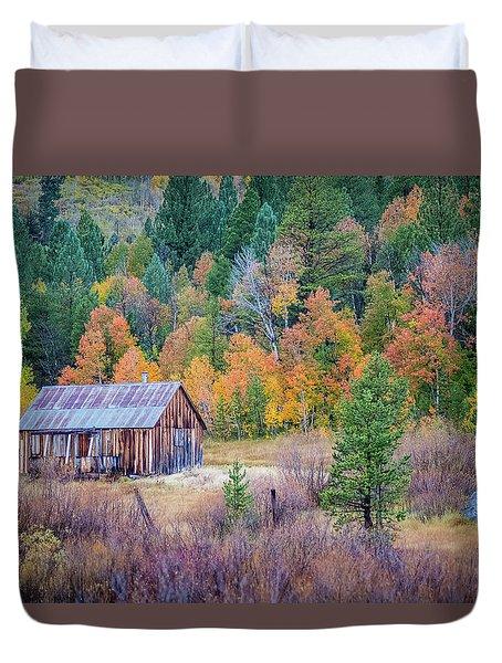 Hope Valley Cabin Duvet Cover