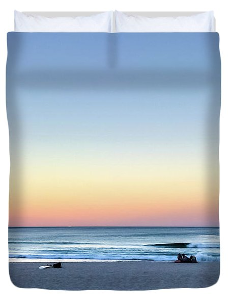Horizon Over Water Duvet Cover