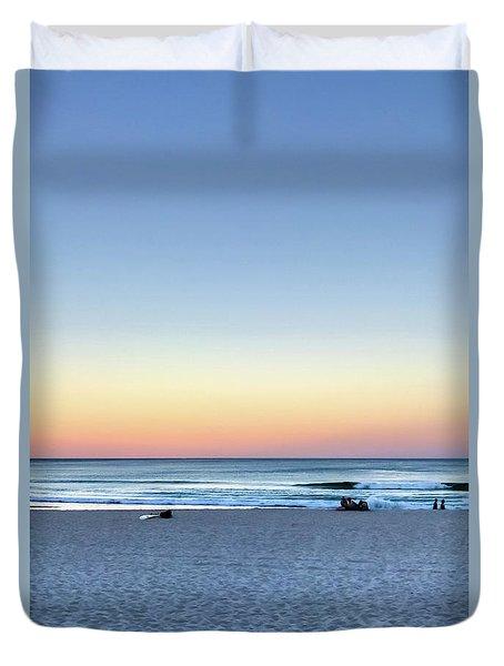 Horizon Over Water Duvet Cover