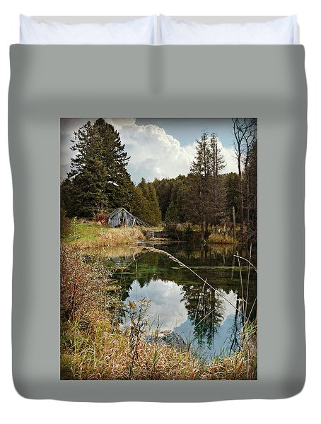 Horning's Home Duvet Cover