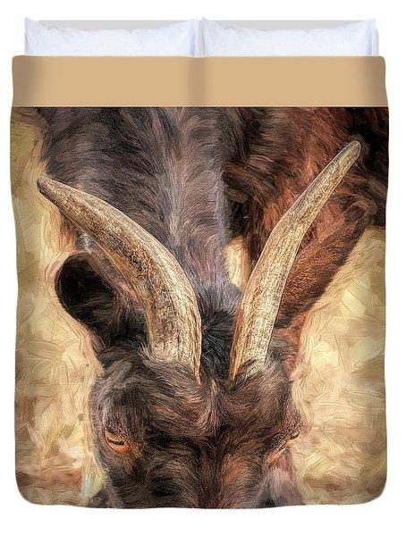 Horns Authority Duvet Cover