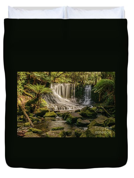 Horseshoe Falls 01 Duvet Cover