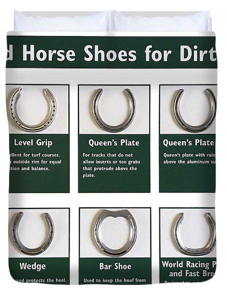 Horseshoes Duvet Cover