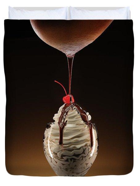 Hot Chocolate Duvet Cover
