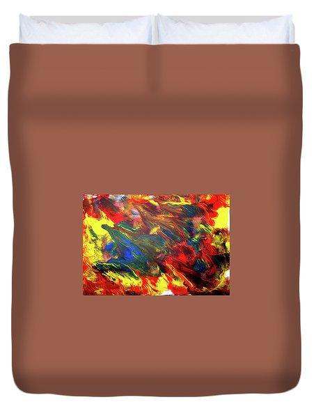 Hot Colors Coolling Duvet Cover