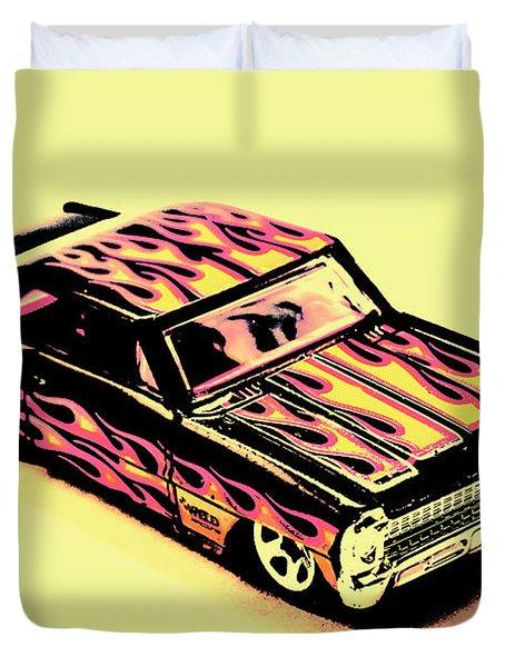Hot Wheels Duvet Cover