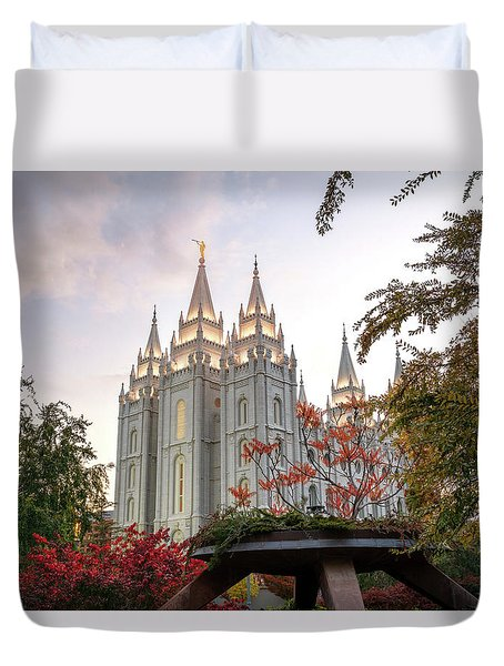 House Of The Lord Duvet Cover