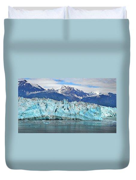 Hubbard Glacier Alaska Duvet Cover