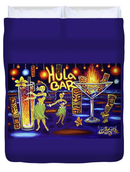 Hula Bar Duvet Cover