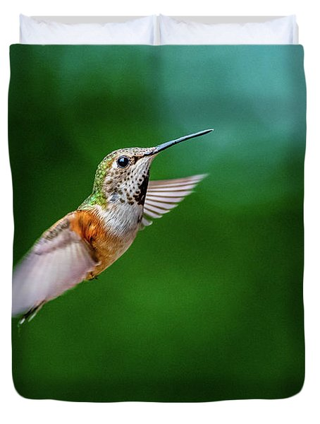 Humming Bird Duvet Cover