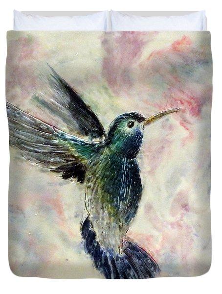 Hummingbird Flight Duvet Cover