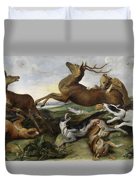 Hunting Duvet Cover
