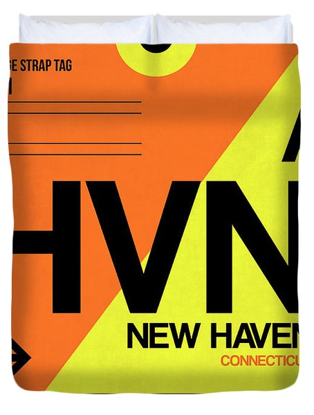 Hvn New Haven Luggage Tag I Duvet Cover
